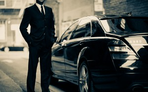 Taxi chauffeur transfer service car hire with driver